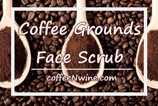 Coffee Grounds Face Scrub