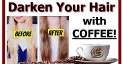 Darken Your Hair with COFFEE