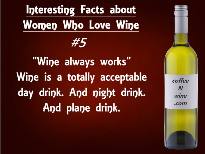 Interesting facts about women who love wine 5