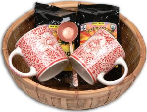 Make a Coffee Gift Basket