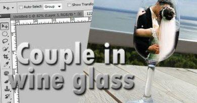 Photo in Wine Glass