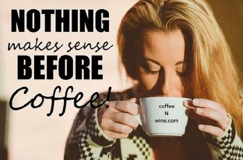 Nothing Makes Sense Before Coffee Image