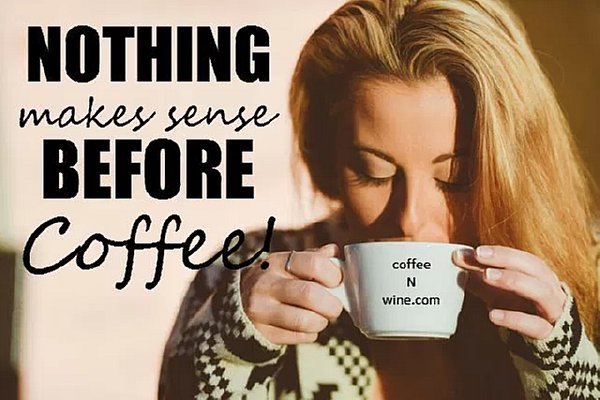 Nothing Makes Sense Before Coffee Image