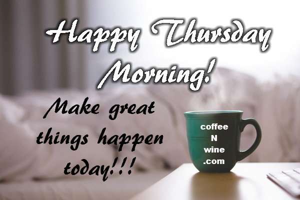 Image result for thursday morning coffee with flowers