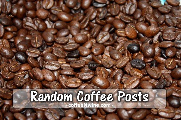 Random Coffee Posts