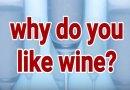 Why Do You Like Wine?