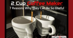 2 Cup Coffee Maker – 7 Reasons Why They Can Be So Useful