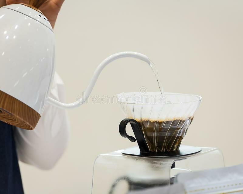 Proper preparation of filter coffee