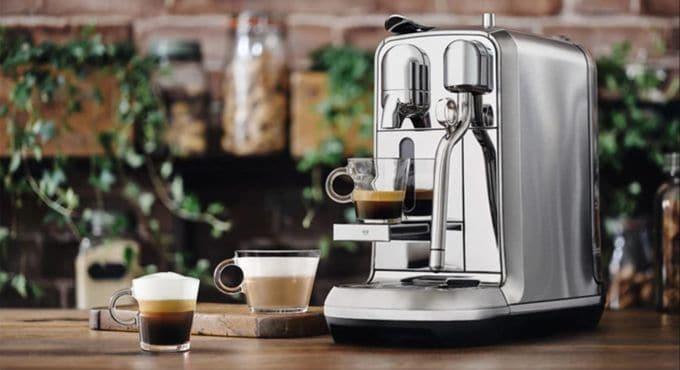Carob espresso machine