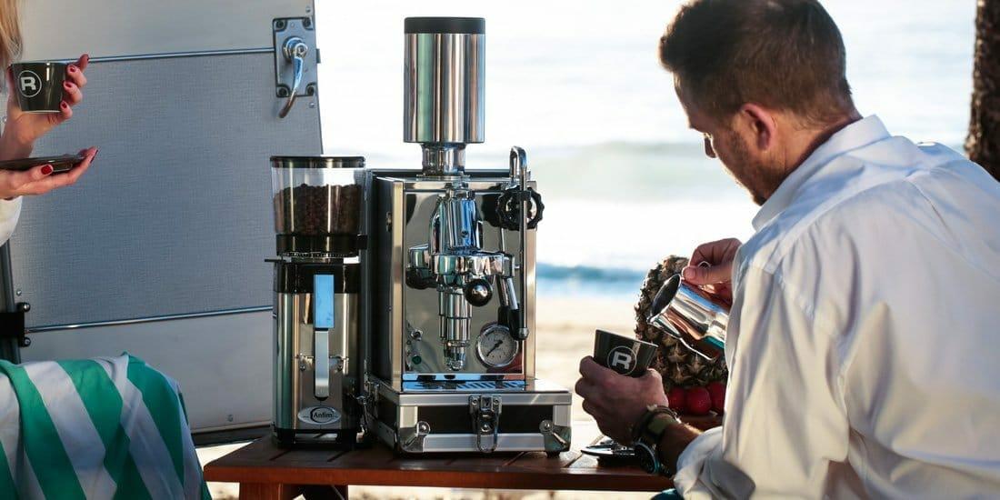 Porta via rocket espresso machine