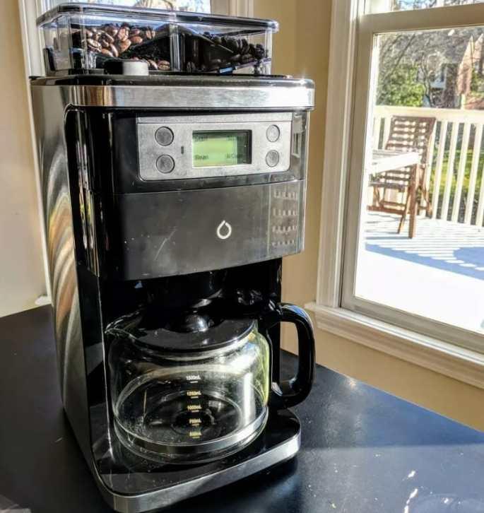 Smarter Coffee WiFi coffee machine 1