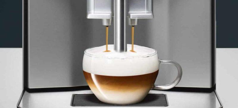 large siemens fully automatic espresso coffee machine ti303203rw titanium black szMkCy6Gzl