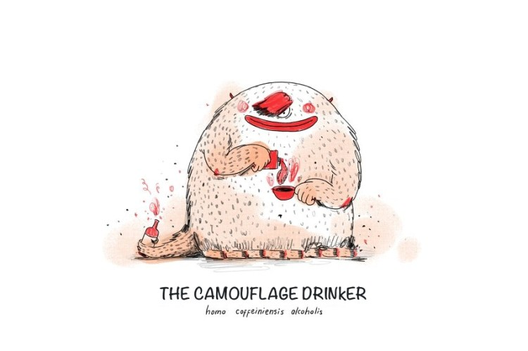 The Camouflage Drinker