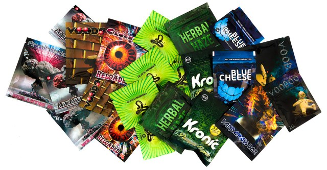 Legal High incense products