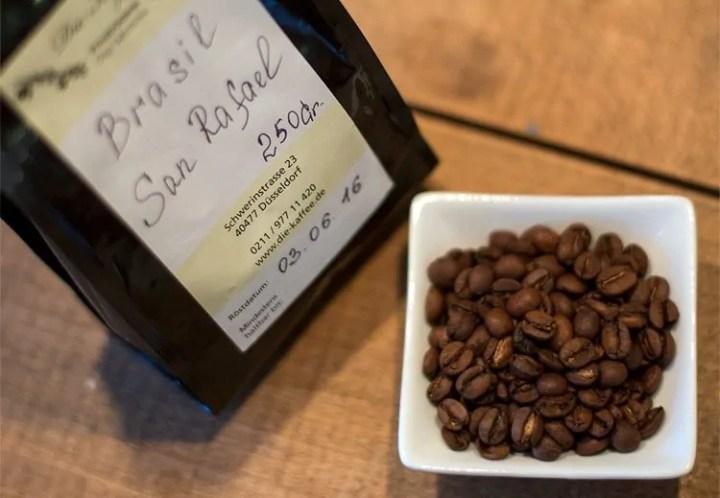 Espresso Test Die Kaffee San Rafael