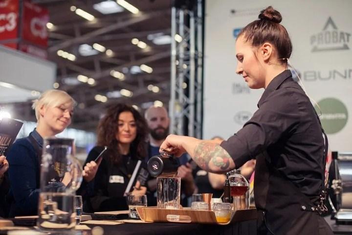 Kaffeemeisterschaft Nicole Battefeld Barista