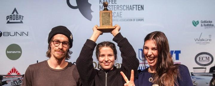 Kaffeemeisterschaft - Chloe Nattrass Baristameisterin 2016