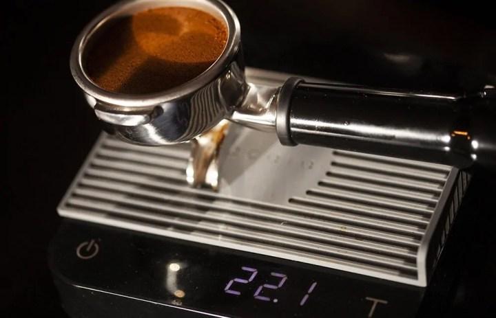 perfekte Dosierung des Kaffees