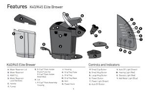 Keurig K40K45 Elite Brewing System Review  CoffeeSphere