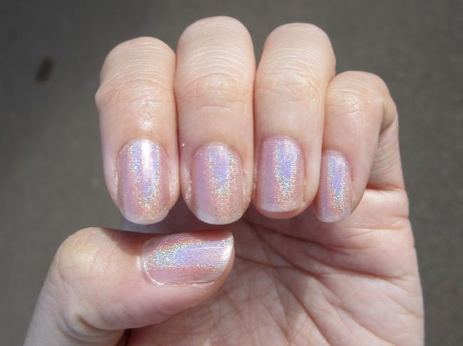 glitter gal australia holographic nude sunlight