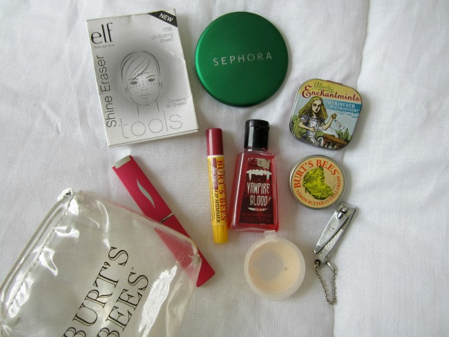 purse stuff contents