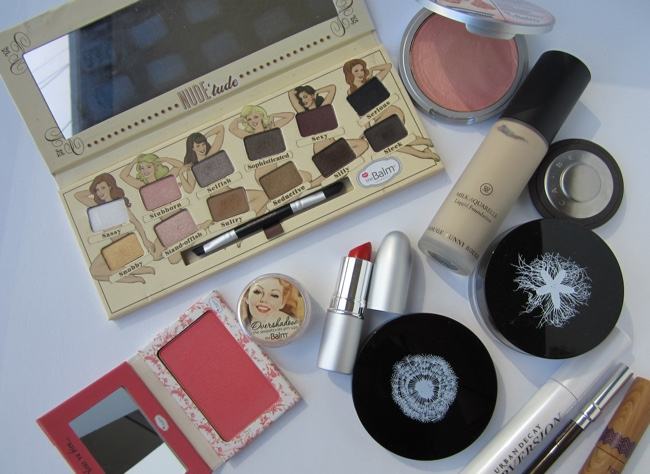 thebalm mia moore fotd products