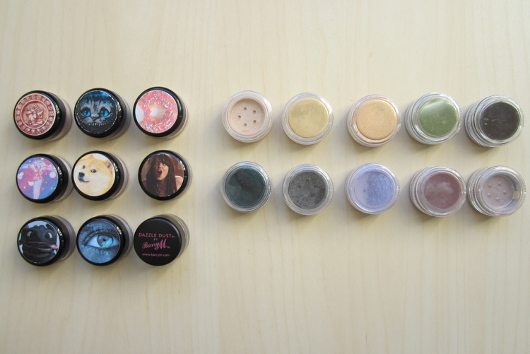 inventory london 2015 loose eyeshadows