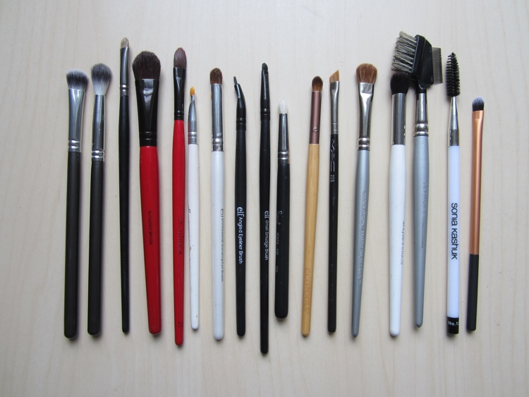 inventory london 2015 eye brushes