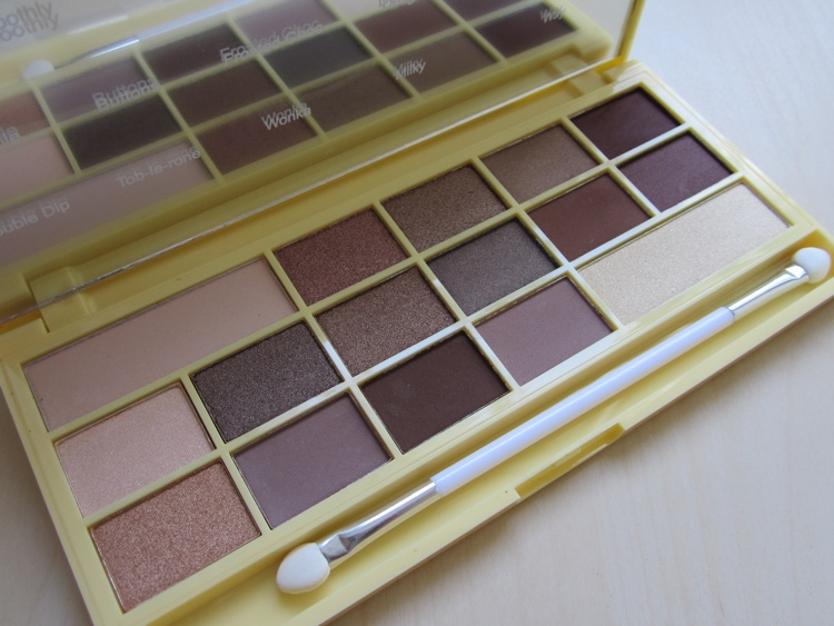 makeup revolution i heart makeup naked chocolate palette
