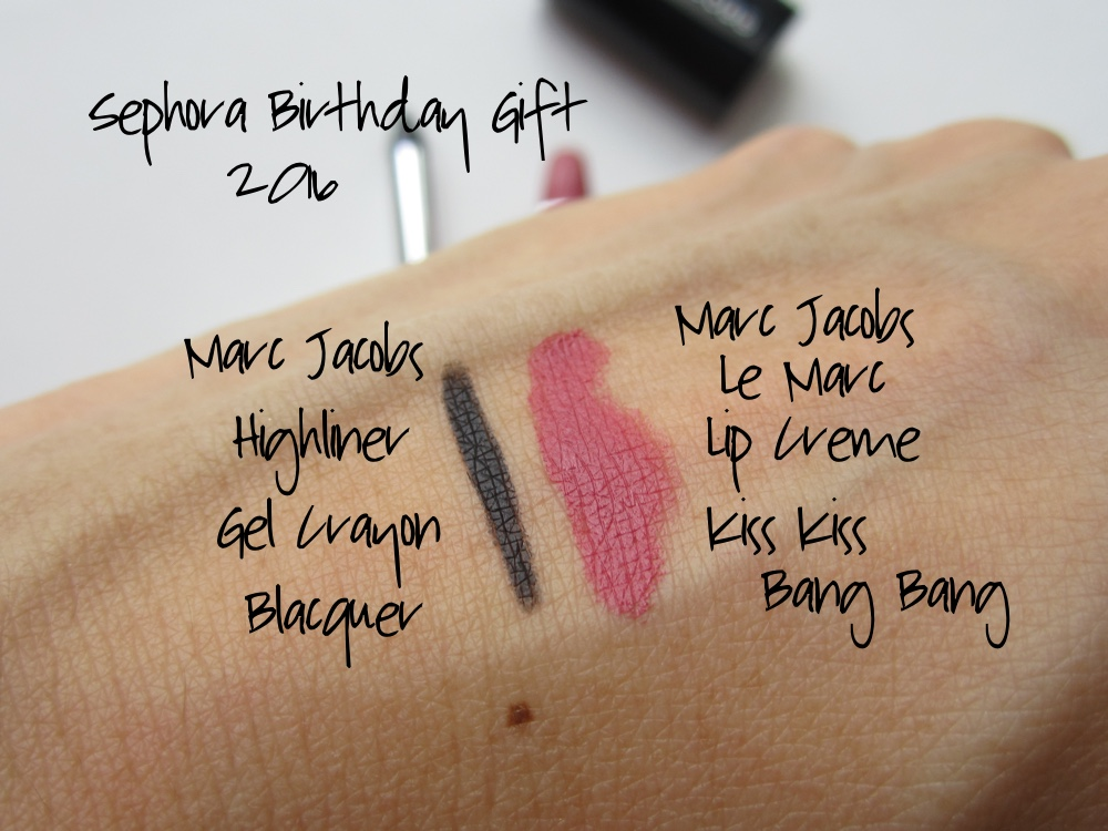 Sephora Birthday Gift 2016 Swatches Overall Theyre Two Basic Staples That The Vast Majority Of Women Or Men Would Appreciate