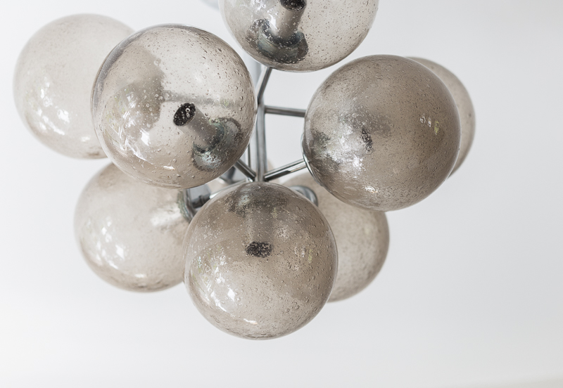 sputnik valaisin 70-luku, sputnik lamp, Max Bill, Temde, Bukowski huutokauppa, pelkistetty sisustus