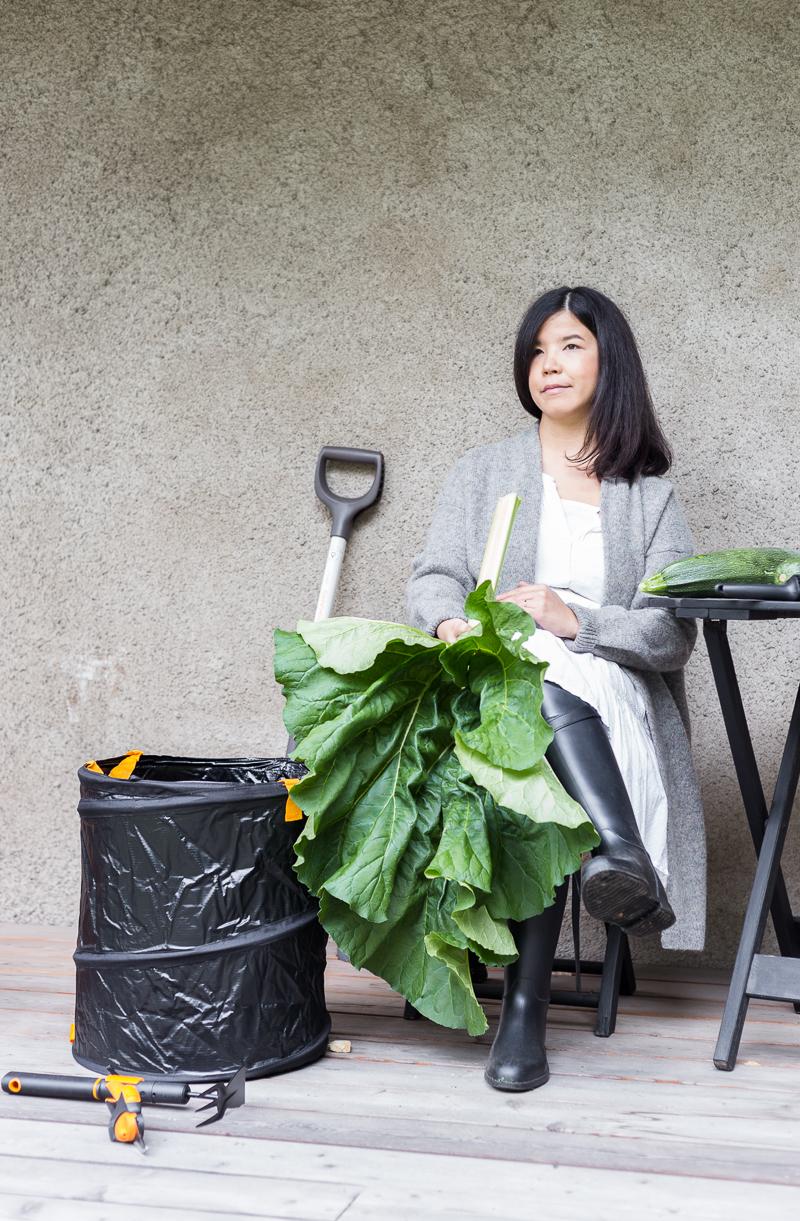 kasvimaa, sato, sadonkorjuu, puutarhan syystyöt, Fiskars pihanhoitovälineet, puutarhapäiväkirja, Coffee Table Diary piha