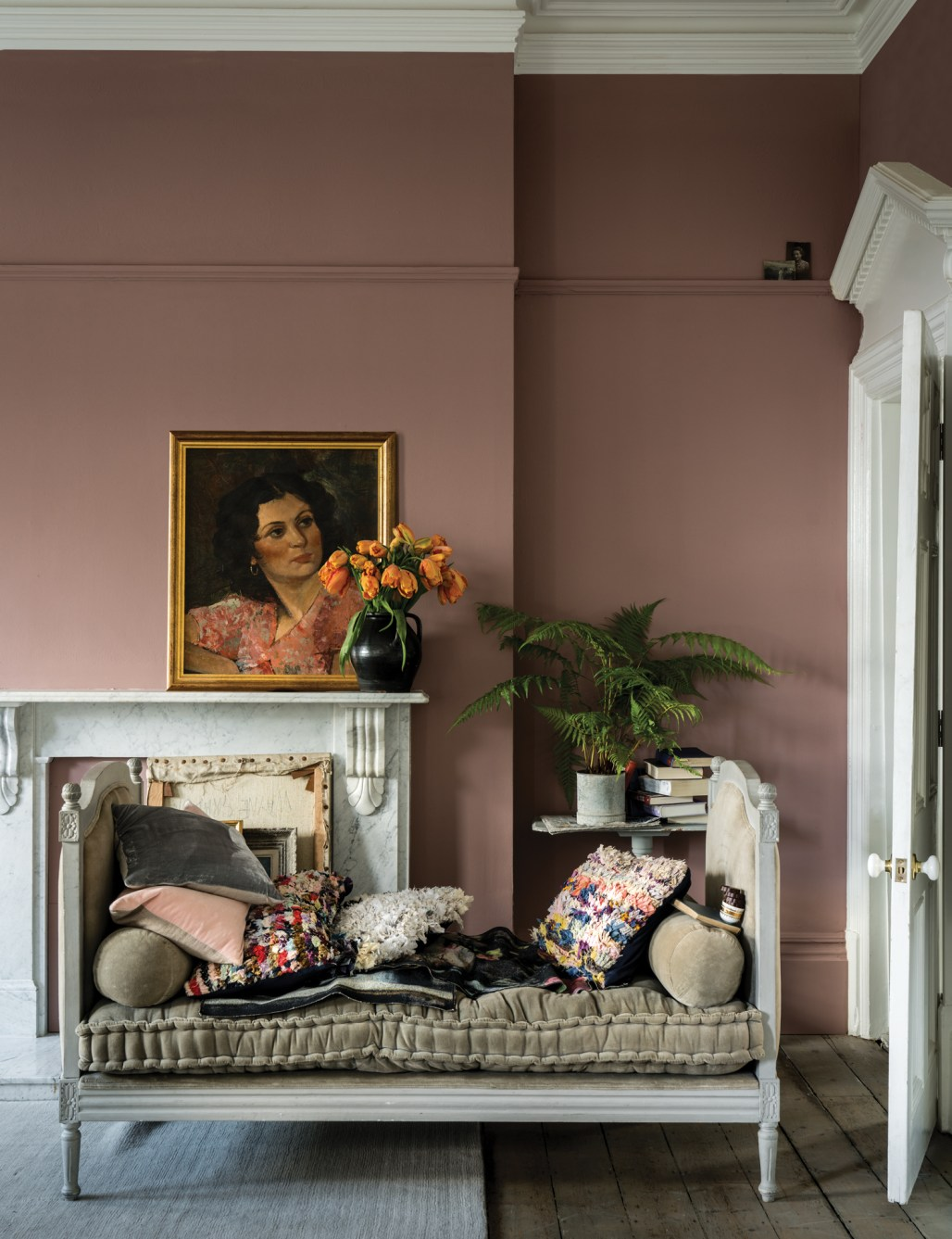 Farrow & Ball 2018 paint colours, uudet maalisävyt, Sulking Room pink