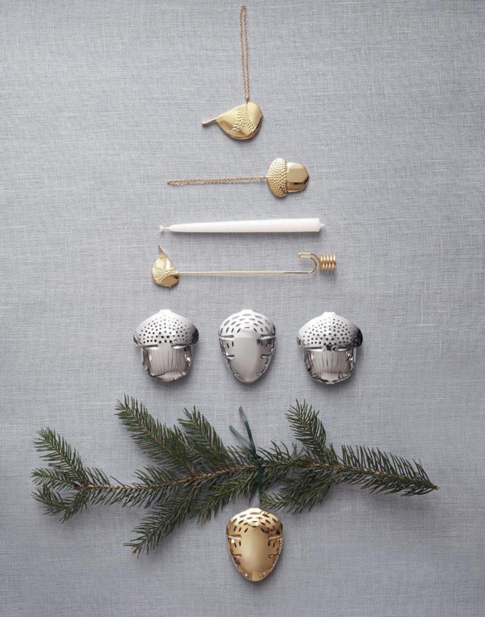 joulukuusen valinta, aito vai tekokuusi, joulukuusi ekologisuus, joulukoristeet Georg Jensen