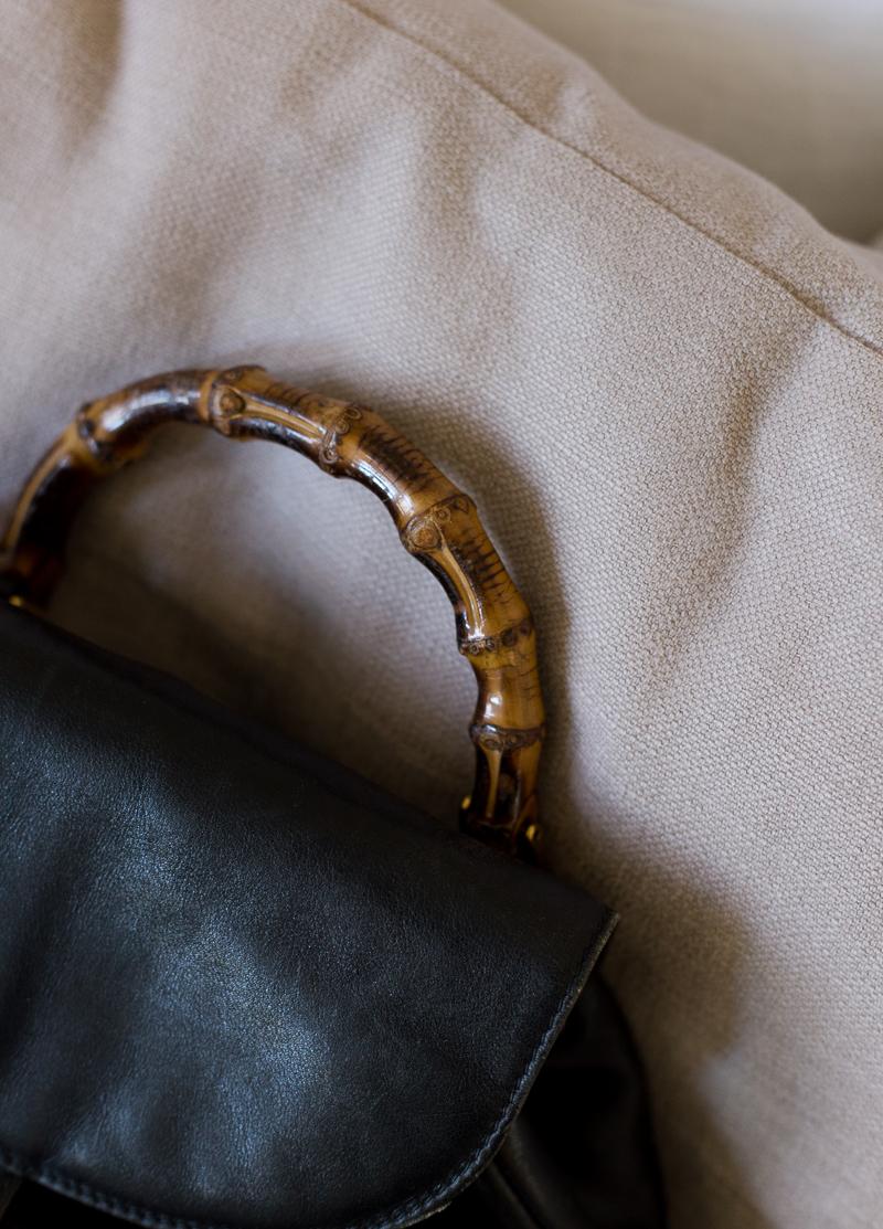 vintage vaatelöytöjä, Gucci reppu,  vintage Gucci Backpack