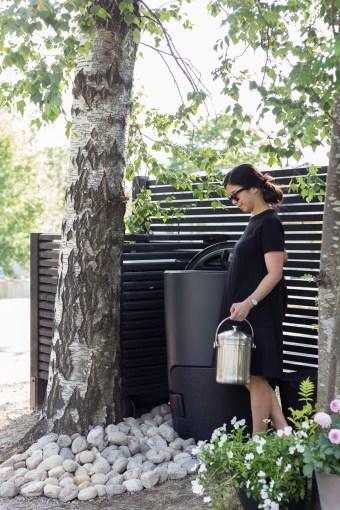 Puutarhassa: Kompostori |  Tyylikäs ja vastuullinen valinta