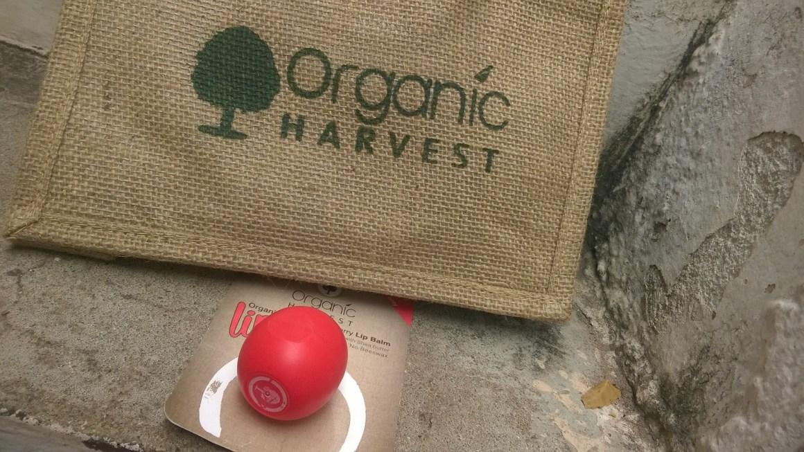 Organic Harvest -Organic Lips Review-Coffeetabletalks.com