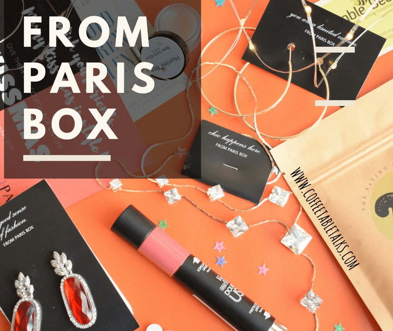 From Paris Box Review and coupon code – Theme based Subscription box