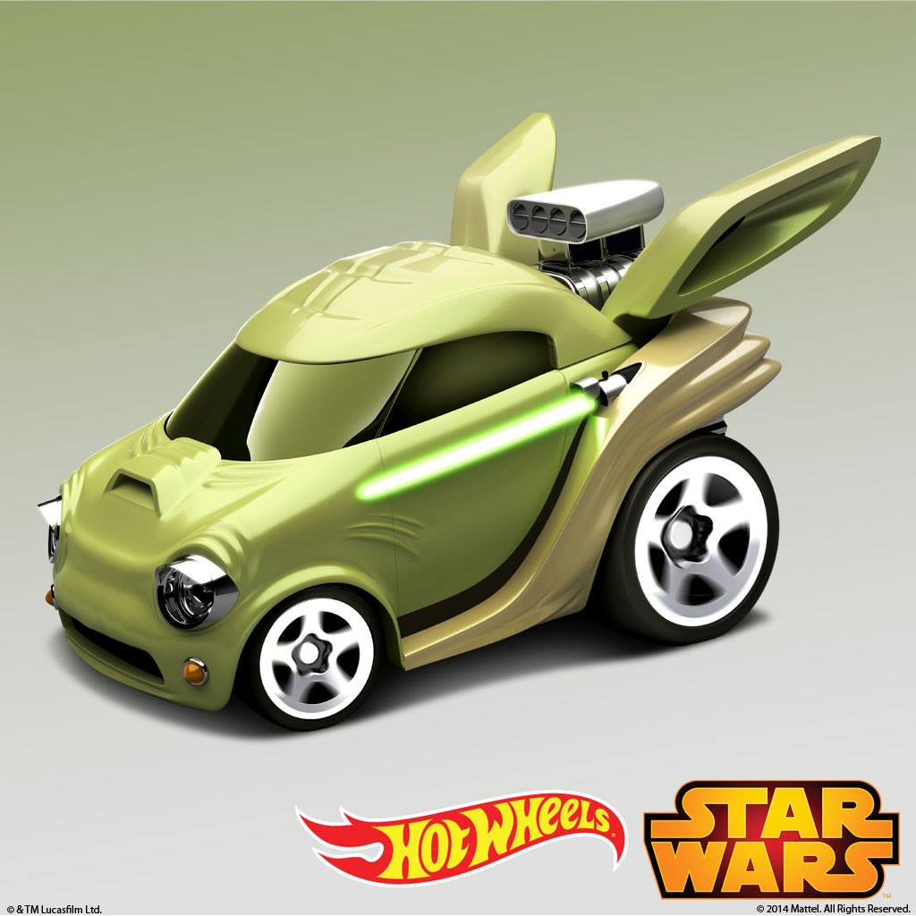 Check Out These Awesome Star Wars Hot Wheels