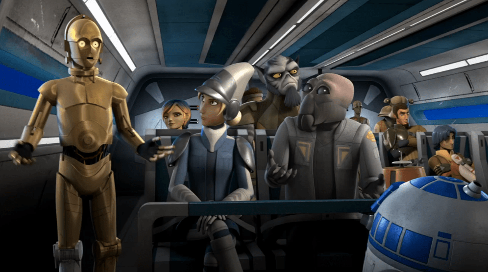 Droids in Distress Cover picture