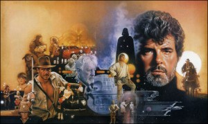 george lucas indiana jones star wars