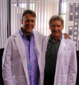 Steve and Harrison Ford