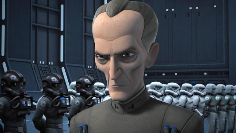 Tarkin with troopers