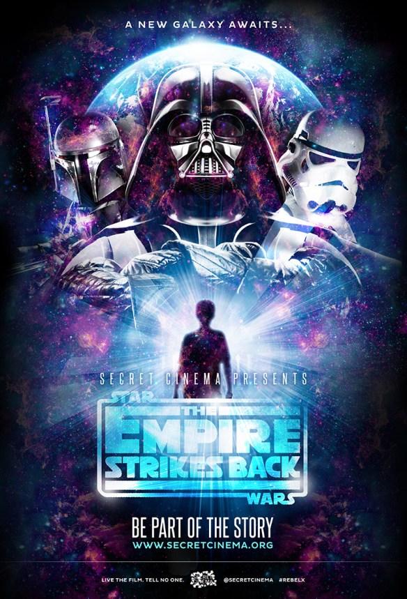 Secret Cinema Family Poster