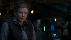leia feels Han passing
