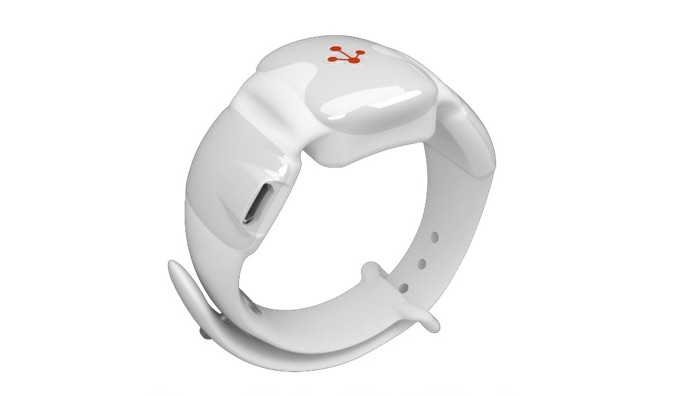 A Prototype of the mForce Wristband by Metron Force