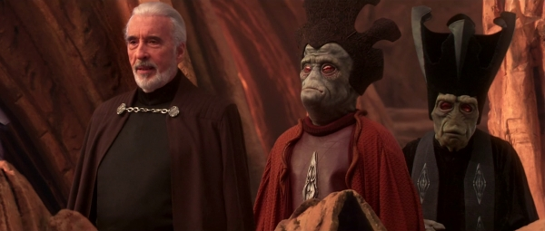 Dooku oversees the Arena