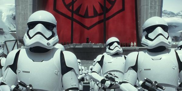 First Order Stormtroopers on Starkiller Base