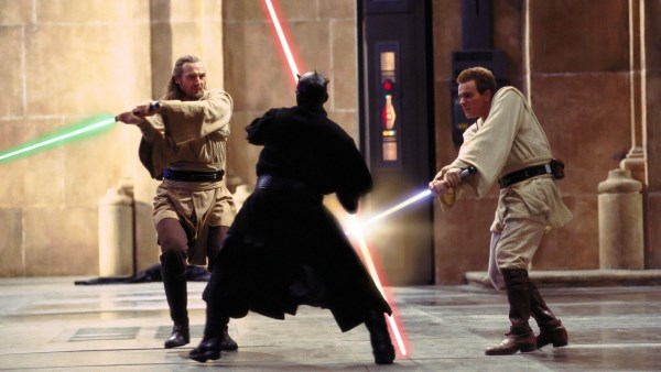 Always Two There Are - Maul vs Qui-Gon and Obi-Wan