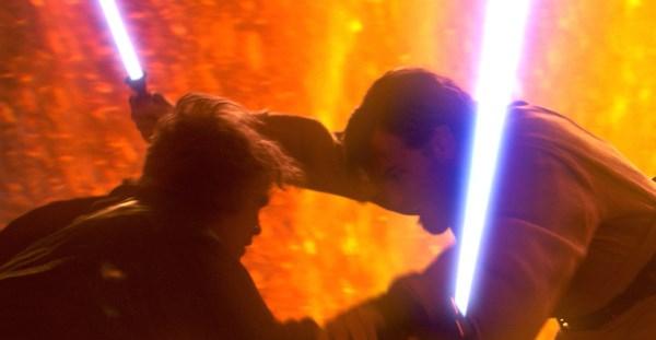 Forces of Evil - Obi-Wan versus Anakin
